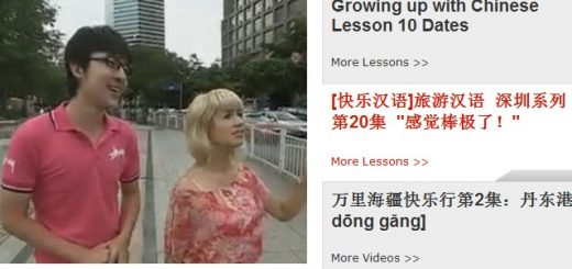 Free Chinese learning videos