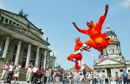 Shaolin Kung fu show in Astria