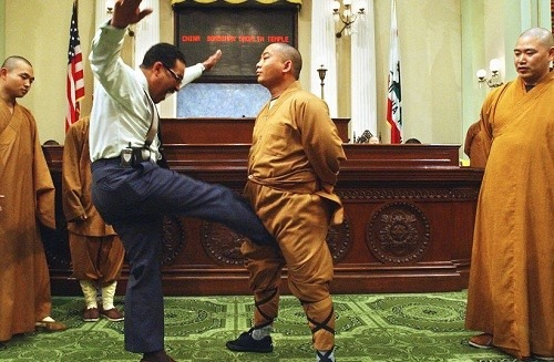 shaolin kung fu show in the usa