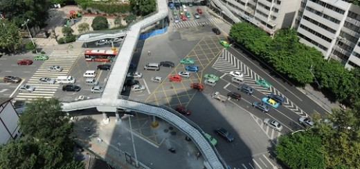 most complicated overpass in Chengdu