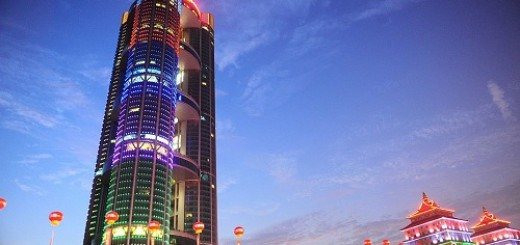 Huaxi village high building hotel 11100901