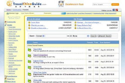 Top 5 China Travel Forums