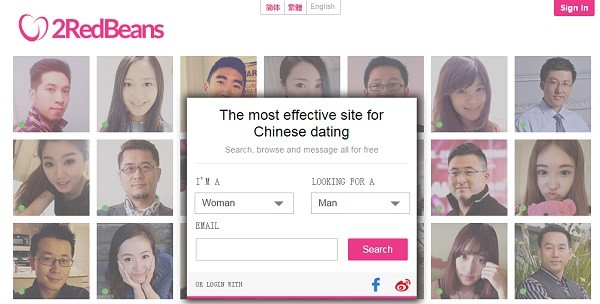 free dating sites in china