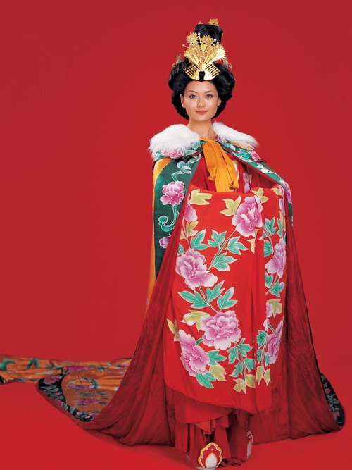 Women clothing in Sui Tang and Wudai Period (581 A.D. – 960 A.D)