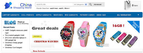 Top 10 online english shopping websites from china for Top 10 cheap online shopping sites