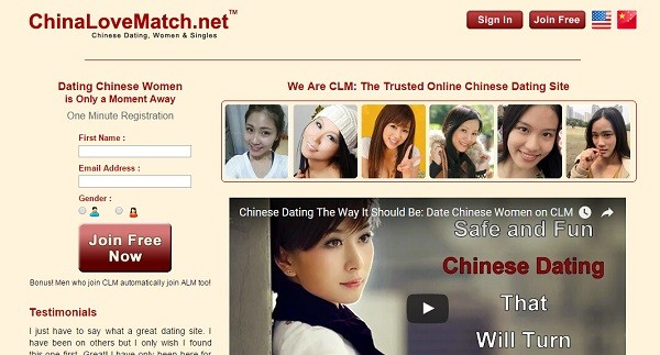 Online dating china free