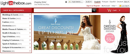 Top 10 china online shopping websites in english for The best cheap online shopping sites