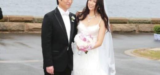 Cathy Tsui and Martin Lee Ka Shing wedding