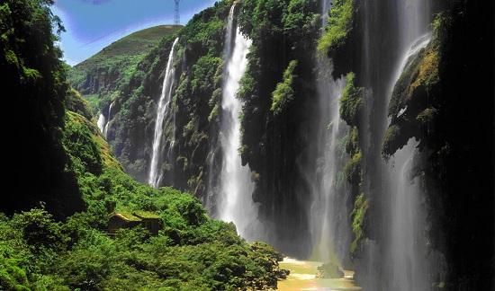 Malinghe Waterfall