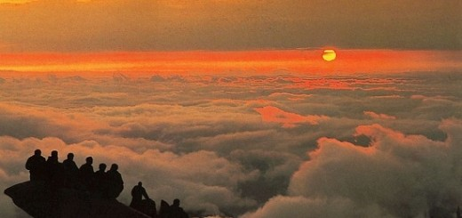 Mount Tai sunrise