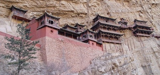 The Hanging Temple Hengshan