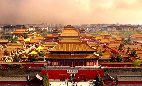 famous ancient architecture. The Forbidden City In The Center Of Beijing Is Largest And Most  Complete Imperial Palace Ancient Building Complex China. Famous Architecture O