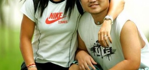 Li Na and Jiang Shan
