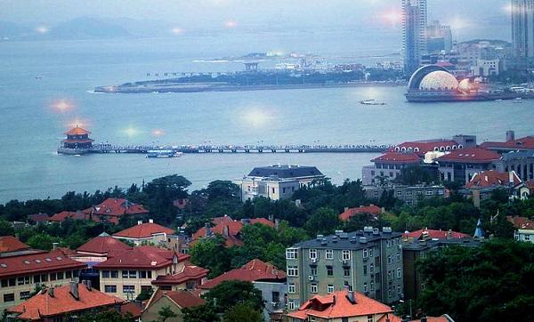 Qingdao Coastal city