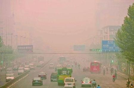 Most air polluted cities in china