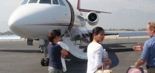 Liu Tao private jet
