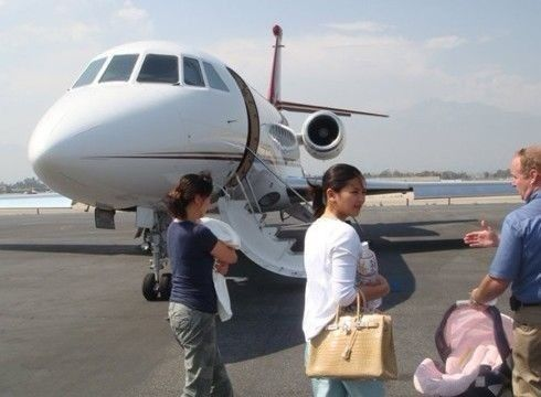 Liu Tao private jet