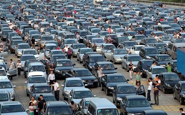 Αποτέλεσμα εικόνας για Shenzhen traffic jam
