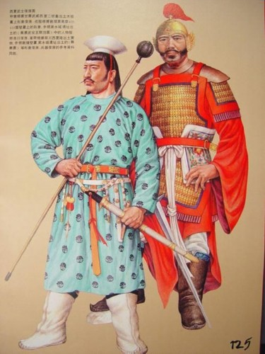 Jin Dynasty Uniform