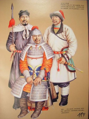 Liao Dynasty army uniform