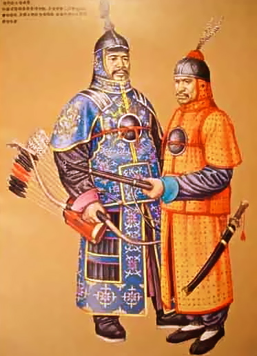 Qing Dynasty Uniform