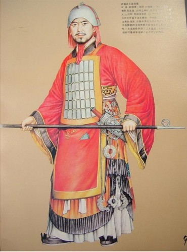 Western Zhou Dynasty army uniform