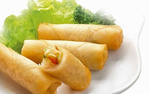 spring rolls china dish