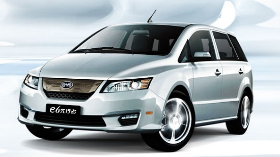 Byd Is The Poster Child Of Electric Car Industry In China E6 Its Purely Utility Vehicle That A Cross Between Sedan And An Suv