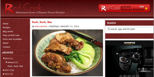 Top 5 best chinese food blogs redcook is a high quality blog about chinese home style cooking the blogger kian lam kho is a software engineer however he is in crazy love for forumfinder Images