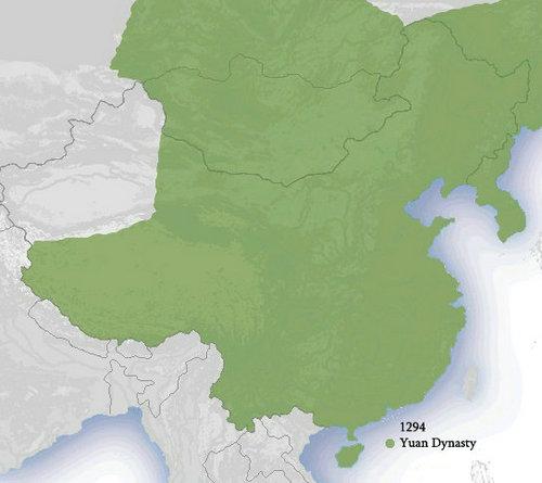 Yuan Dynasty Map