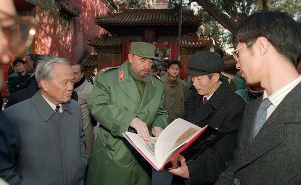 Castro in Beijing