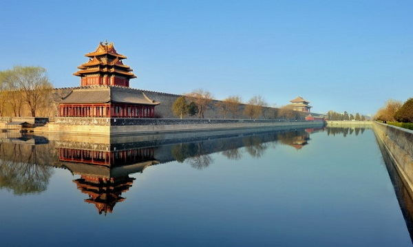 Forbidden City moat