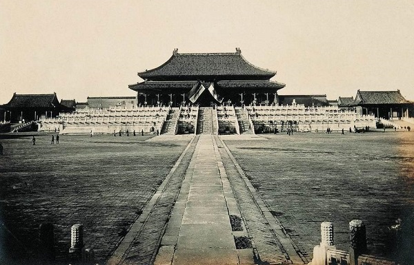 Forbidden City old picture