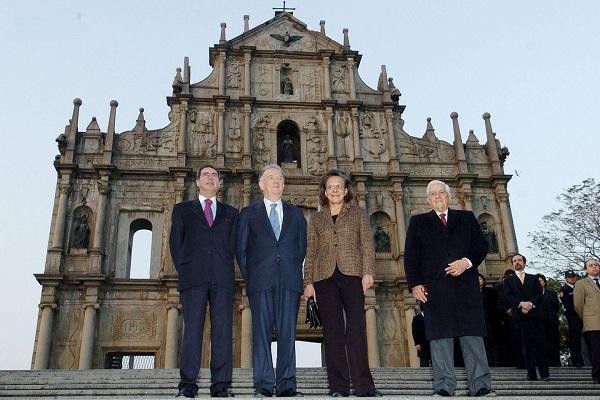 Jorge Sampaio visit Macau