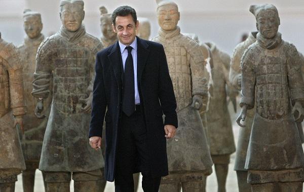 Sarkozy visits Terracotta Warriors Army