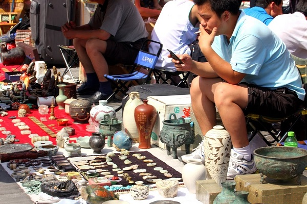panjiayua flea market