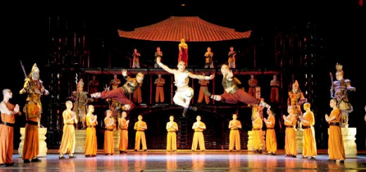 the legend of kung fu show