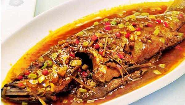 Huangshan Stinky Mandarin Fish