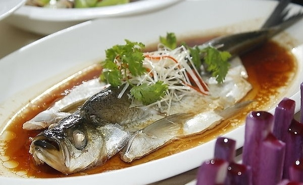 Steamed Whitefish