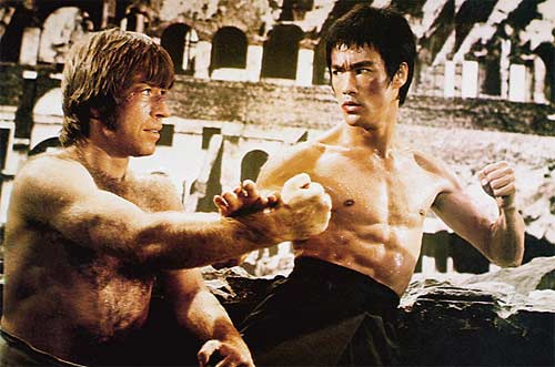 bruce lee fight