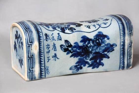 porcelain pillow