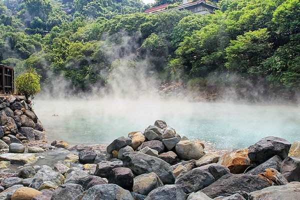 Beitou Hot Springs valley