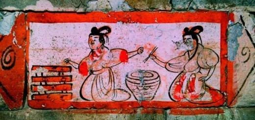 use of chopsticks in Weijin Dynasties