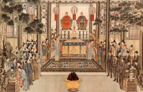 ancestor worship in china Starting from the early 1990s, zhengzhou's annual ancestor worship  of this  chinese common ancestor and also the day when huangdi (or.