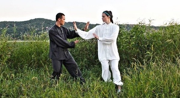 foreigner learn kung fu
