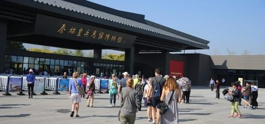 Main Entrance of the Terracotta Army Museum
