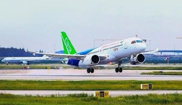 Chinese large passenger jet C919