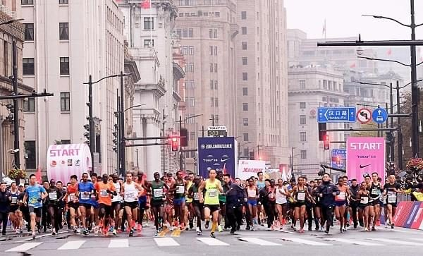The Shanghai International Marathon